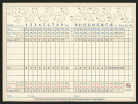 Phil Mickelson Signed 2020 PGA Golf Club 6x8 Scorecard (Beckett COA) at PristineAuction.com