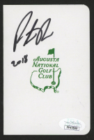 "Patrick Reed Signed Augusta National Golf Club Scorecard Inscribed ""2018"" (JSA COA) at PristineAuction.com"