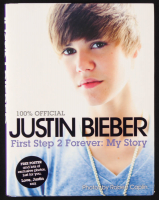 """Justin Bieber Signed """"First Step 2 Forever: My Story"""" Hardcover Book (JSA COA) at PristineAuction.com"""