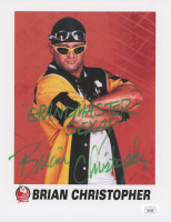"Brian Christopher 8x10 Photo Inscribed ""Grandmaster Sexay"" (JSA COA) at PristineAuction.com"