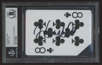 """Henry Hill Signed """"The Orleans"""" Playing Card (BGS Encapsulated) at PristineAuction.com"""