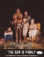 "R.A. Mihailoff Signed ""Leatherface: The Texas Chainsaw Massacre III"" 8x10 Photo (JSA COA) at PristineAuction.com"