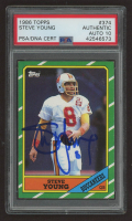 Steve Young Signed 1986 Topps #374 RC (PSA Encapsulated) at PristineAuction.com