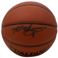 Kobe Bryant Signed NBA Basketball (PSA Hologram) at PristineAuction.com
