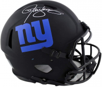 Lawrence Taylor Signed Giants Full-Size Authentic On-Field Eclipse Alternate Speed Helmet (Radtke COA) at PristineAuction.com