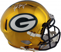 Brett Favre Signed Packers Full-Size Authentic On-Field Chrome Speed Helmet (Radtke COA) at PristineAuction.com