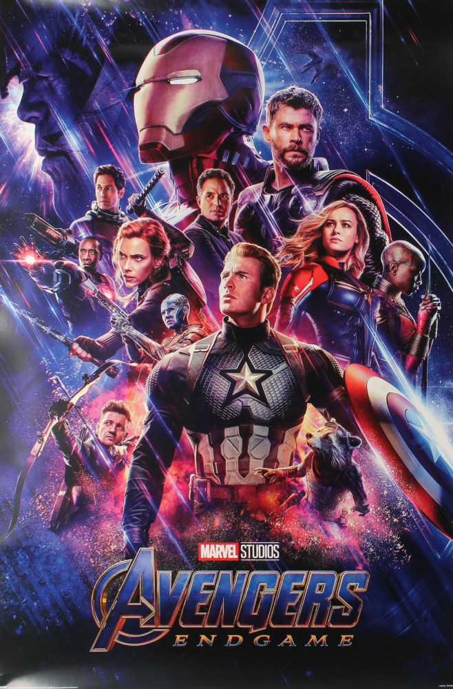"""""""Avengers: Endgame"""" 24x36 Poster  Pristine Auction"""