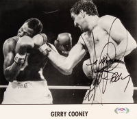 Gerry Cooney Signed 8x10 Press Photo (PSA COA) at PristineAuction.com