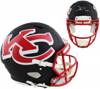 Frank Clark Signed Chiefs Full-Size Authentic On-Field AMP Alternate Speed Helmet (Radtke COA) at PristineAuction.com