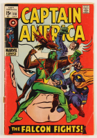 "1969 ""Captain America: The Falcon Fights!"" Issue #118 Marvel Comic Book at PristineAuction.com"