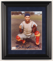 Roy Campanella Signed Dodgers 12.5x14.5 Custom Framed Photo Display (JSA LOA) at PristineAuction.com