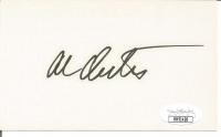 Al Oerter Signed 3x5 Index Card (JSA COA) at PristineAuction.com