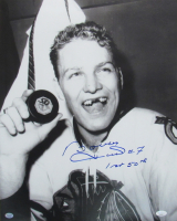 "Bobby Hull Signed Blackhawks 16x20 Photo Inscribed ""1st 50th"" (JSA COA) at PristineAuction.com"