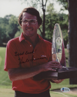 """Hale Irwin Signed 8x10 Photo Inscribed """"Good Luck"""" (Beckett COA) at PristineAuction.com"""