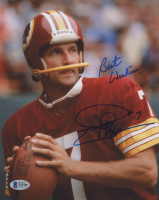 "Joe Theismann Signed Redskins 8x10 Photo Inscribed ""Best Wishes"" (Beckett COA) at PristineAuction.com"