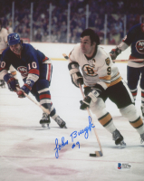 Johnny Bucyk Signed Bruins 8x10 Photo (Beckett COA) at PristineAuction.com