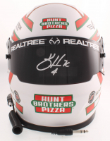 Kevin Harvick Signed NASCAR Hunt Brothers Pizza Full-Size Helmet (PA COA) (See Description) at PristineAuction.com