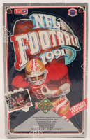 1991 Upper Deck Football Premiere Edition Box of (432) Cards at PristineAuction.com