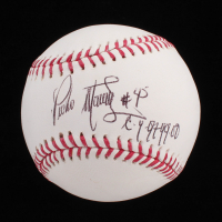 "Pedro Martinez Signed OML Baseball Inscribed ""C.Y. 97. 99. 00"" & ""With The Best Wishes"" (JSA COA) at PristineAuction.com"