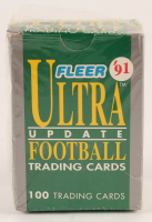 1991 Fleer Ultra Update Football Trading Card Factory Set with (100) Trading Cards at PristineAuction.com
