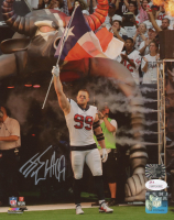 J.J. Watt Signed Texans 8x10 Photo (JSA COA & Watt Hologram) at PristineAuction.com