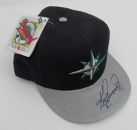 Ken Griffey Jr. Signed Mariners New Era Fitted Baseball Cap (Beckett COA) at PristineAuction.com