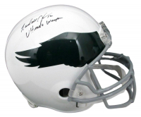 """Randall Cunningham Signed Eagles Full-Size Helmet Inscribed """"Ultimate Weapon"""" (JSA COA) at PristineAuction.com"""