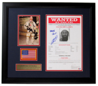 "Robert J. O'Neill Signed 20x21 Custom Framed Photo Inscribed ""Never Quit!"" (PSA COA) at PristineAuction.com"