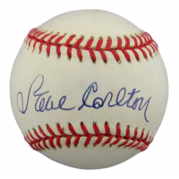 Steve Carlton Signed ONL Baseball (JSA COA) at PristineAuction.com