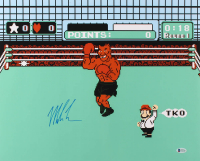 "Mike Tyson Signed ""Punch-Out!!"" 16x20 Photo (Beckett COA) at PristineAuction.com"