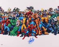 Stan Lee Signed Marvel 16x20 Photo (PSA COA) at PristineAuction.com