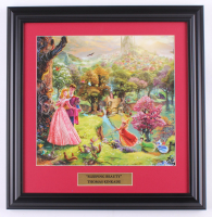 "Thomas Kinkade Walt Disney's ""Sleeping Beauty"" 16.5x17 Custom Framed Print Display at PristineAuction.com"