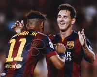 Neymar Signed Barcelona 16x20 Photo (Beckett COA) at PristineAuction.com
