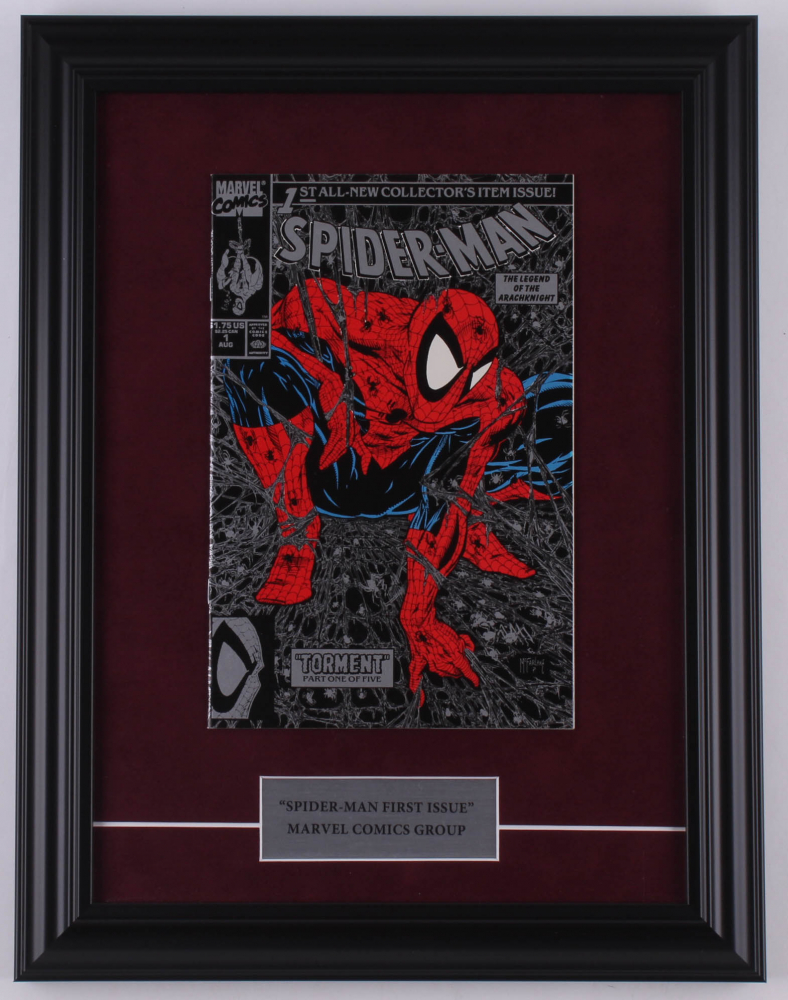 """Vintage 1990 """"The Amazing Spider-Man"""" Issue #1 13.5x17.5 Custom Framed Marvel First Issue Comic Book at PristineAuction.com"""