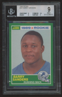 Barry Sanders 1989 Score #257 RC (BGS 9) at PristineAuction.com