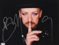Boy George Signed 11x14 Photo (PSA COA) at PristineAuction.com