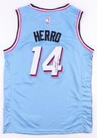 Tyler Herro Signed Heat Jersey (JSA COA) at PristineAuction.com