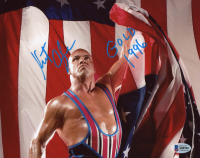 "Kurt Angle Signed 8x10 Photo Inscribed ""1996 Gold"" (Beckett COA) at PristineAuction.com"