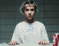 "Millie Bobby Brown Signed ""Stranger Things"" 11x14 Photo Inscribed ""011"" (Beckett COA) at PristineAuction.com"