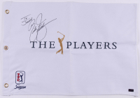 Rickie Fowler Signed The Players Golf Pin Flag (Palm Beach COA) at PristineAuction.com