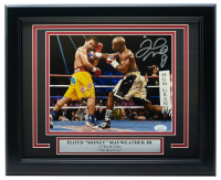 Floyd Mayweather Jr. Signed 11x14 Custom Framed Photo Display (JSA COA) at PristineAuction.com