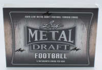 2020 Leaf Metal Draft Football Hobby Box with (1) Pack at PristineAuction.com