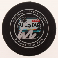 Connor McDavid Signed 2019 All-Star Game Logo Hockey Puck (JSA COA) at PristineAuction.com