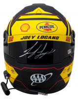 Joey Logano Signed NASCAR Pennzoil Full-Size Helmet (SI COA & PA Hologram) at PristineAuction.com