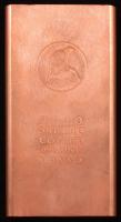 2010 One Kilo Copper Bullion Bar at PristineAuction.com