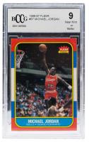 Michael Jordan 1986-87 Fleer #57 RC (BCCG 9) at PristineAuction.com