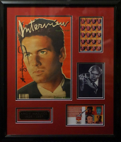 Andy Warhol Signed 23x28 Custom Framed Magazine Display (JSA LOA) at PristineAuction.com