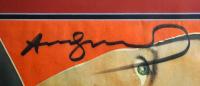 Andy Warhol Signed 23x28 Custom Framed Magazine Display (JSA LOA) at PristineAuction.com