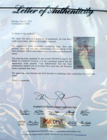 Betty Grable Signed 21x23 Custom Framed Letter Display (PSA LOA) at PristineAuction.com