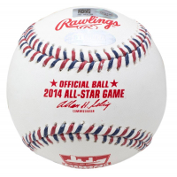 Derek Jeter Signed 2014 MLB All-Star Game Logo Baseball (Steiner COA & MLB Authentication Hologram) at PristineAuction.com